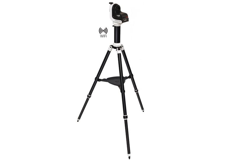 Skywatcher azimutale teleskop montierung az gti mit goto und stativ