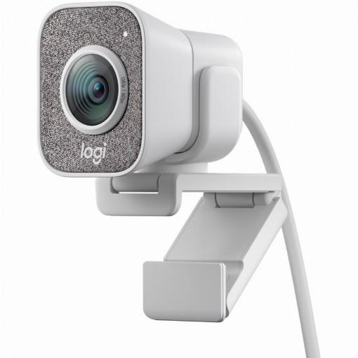 LOGITECH Webcam StreamCam USB-C whit 1920x1080,USB-C, Mikrofon, weiß