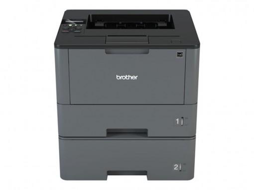BROTHER HL-L5100DNT A4 monochrom USB Laserdrucker 40ppm 250 Blatt + 520 Blatt + 50 Blatt MF Papierzufuhr Duplex