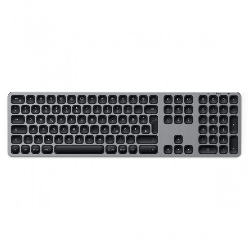 Satechi Aluminum BT Keyboard Full German space gray