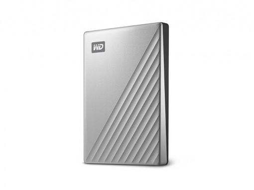 "WD 6,4cm(2,5"") 4TB My Passport Ultra for Mac USB-C silber"