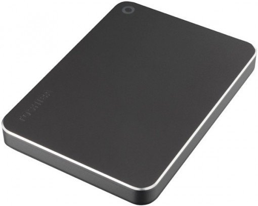 "TOSHIBA Canvio Premium für Mac 2TB 2.5"" USB 3.0 dunkelgrau"