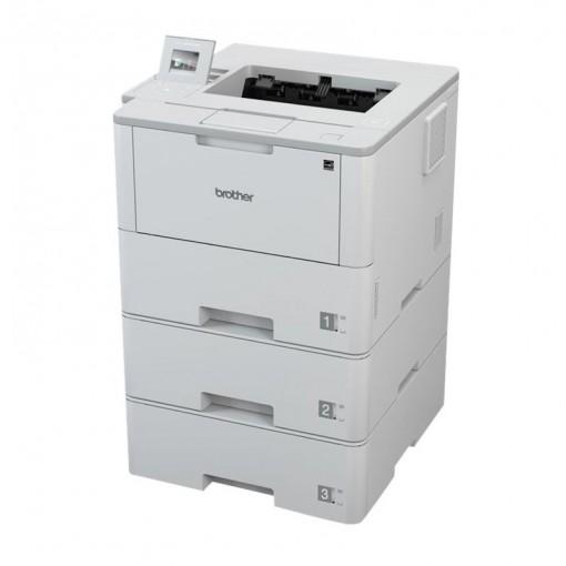 BROTHER HL-L6400DWTT A4 monochrom Laserdrucker 50ppm 3x520 Blatt Papierkassetten Duplex WLAN