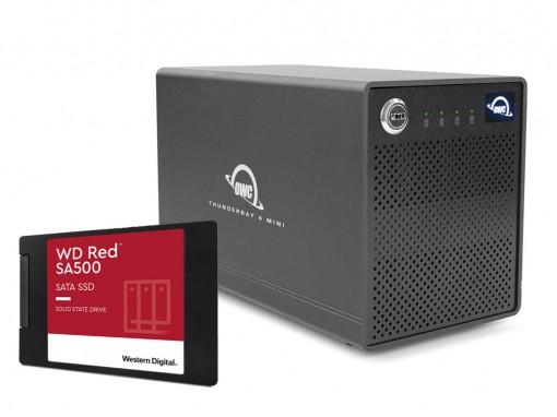 RAID Macconnect Thunder3 4fach 4 TB SSD (4 * 1TB WD RED)
