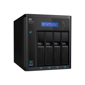 WD My Cloud EX4100 Case NAS 4-Bay Diskless 1,3GHz Marvell ARMADA 388 dual-core processor 2GB DDR3 RAM RTL