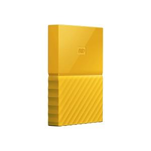 WD My Passport 2TB Gelb portable HDD external Thin USB3.0 6,4cm 2,5Zoll Retail