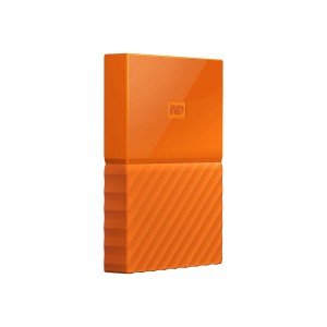 WD My Passport 2TB Orange portable HDD external Thin USB3.0 6,4cm 2,5Zoll Retail