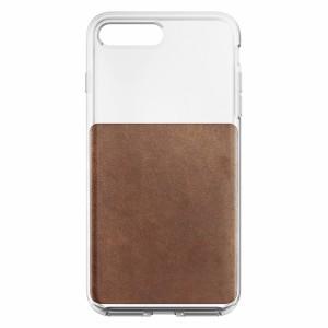 Nomad Clear Case Rustic Brown für iPhone 7/8 Plus