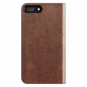 Nomad Leather Folio Rustic Brown für iPhone 7/8 Plus