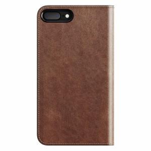 Nomad Leather Folio Rustic Brown für iPhone 7/8 Plus