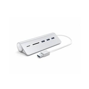 Satechi Aluminum USB 3.0 Hub & Card reader