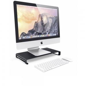 Satechi Slim Aluminum Monitor Stand Black
