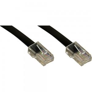 InLine® ISDN Anschlußkabel, RJ45 Stecker/Stecker (8P8C), 20m