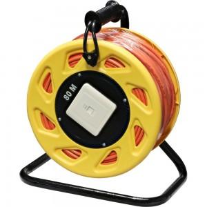 InLine® Netzwerk-Kabeltrommel Cat.6A, S/FTP, 80m