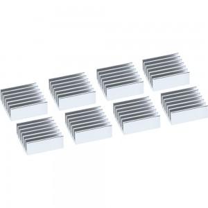 InLine® IC-Kühler selbstklebende Kühlrippen, 8 Stück