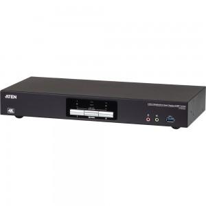 ATEN CS1942DP KVMP-Switch 2-fach, DisplayPort für 2 Displays 4K, USB 3.0, Audio