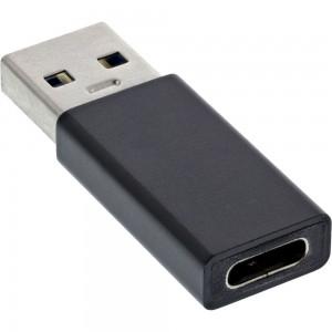 InLine® USB 3.1 Adapter, USB-A Stecker auf USB Typ-C Buchse (Gen.1)