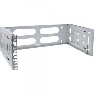 """InLine® 19"""" Rack zur Wandmontage, 4HE, 24-40cm Tiefe, grau"""