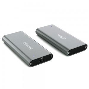 FANTEC NVMe31 SSD-Gehäuse USB 3.1 Gen. 2, grau