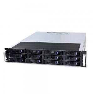 """FANTEC SRC-2012X07, 2HE 19""""-Storagegehäuse ohne Netzteil, 550mm tief"""