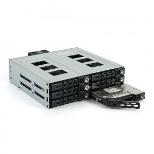 "FANTEC MR-SA1262-12G, SAS 12G + SATA 6G Backplane für 6x2,5"" HDD/SSD"