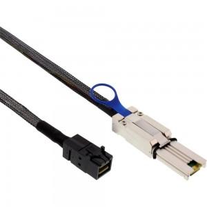 InLine® Mini SAS HD Kabel, SFF-8643 zu SFF-8088, 2m