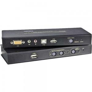 ATEN CE800B Konsolen-Extender 1x PC -> 2x Konsole USB, RS232, Audio, max. 250m
