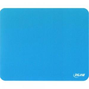 InLine® Maus-Pad antimikrobiell, ultradünn, blau, 220x180x0,4mm