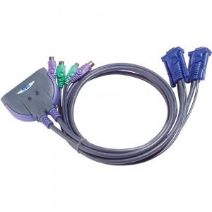 KVM Switch, 2-fach, ATEN CS62S, VGA, PS/2