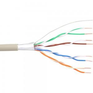 InLine® Telefon-Kabel 8-adrig, 4x2x0,6mm, zum Verlegen, 25m Ring