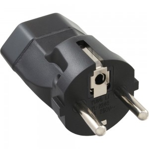 InLine® Netzadapter, Schutzkontakt Stecker auf Schweiz Buchse