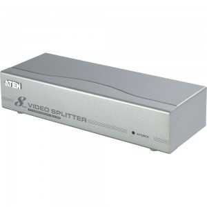 ATEN VS98A Video-Splitter S-VGA 8-fach Monitor-Verteiler, 350Mhz