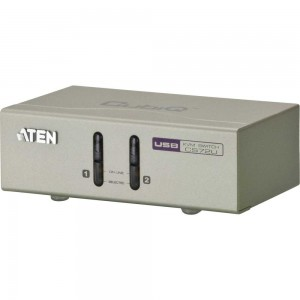 KVM Switch, 2-fach, ATEN CS72U, USB, Audio