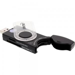 InLine® USB 3.0 Mobile Card Reader mit 2 Laufwerken, für SD, SDHC, SDXC, microSD