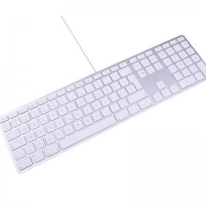 LMP kabelgebundene USB Tastatur Zahlenblock english Qwerty