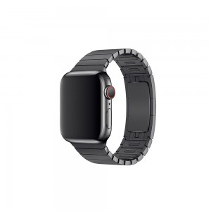 Apple Gliederarmband für Watch 38 mm (space schwarz)