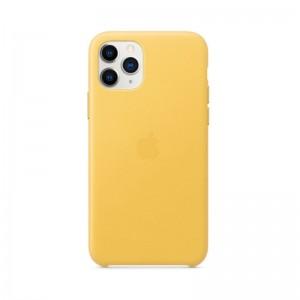 Apple Leder Case iPhone 11 Pro (sonnengelb)