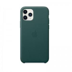 Apple Leder Case iPhone 11 Pro (waldgrün)