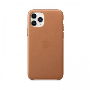 Apple Leder Case iPhone 11 Pro (sattelbraun)
