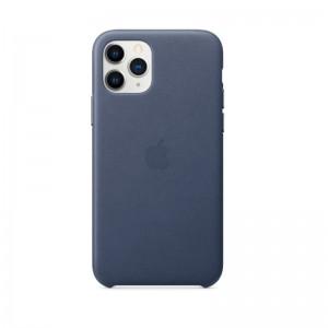 Apple Leder Case iPhone 11 Pro (mitternachtsblau)