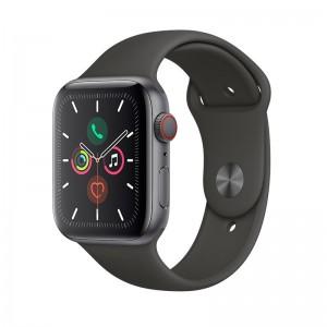 AppleWatch S5 Aluminium 44mm Cellular Spacegrau (Sportarmband schwarz)