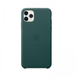Apple Leder Case iPhone 11 Pro Max (waldgrün)