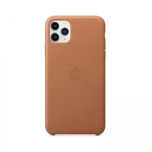 Apple Leder Case iPhone 11 Pro Max (sattelbraun)