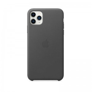 Apple Leder Case iPhone 11 Pro Max (schwarz)