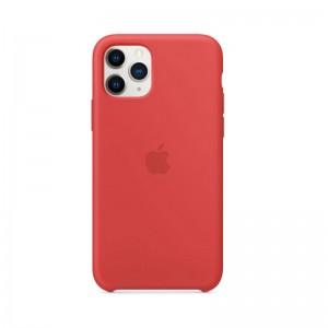 Apple Silikon Case iPhone 11 Pro (rot)