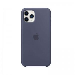 Apple Silikon Case iPhone 11 Pro (mitternachtsblau)