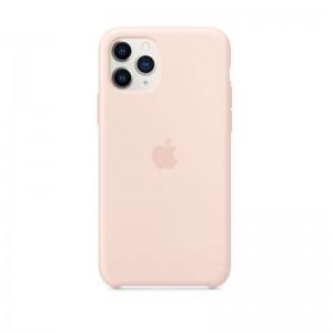 Apple Silikon Case iPhone 11 Pro (sandrosa)