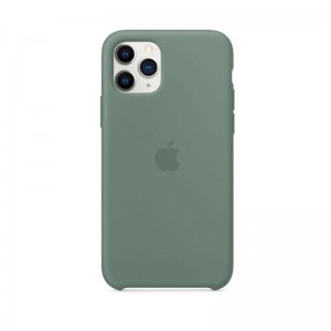 Apple Silikon Case iPhone 11 Pro (piniengrün)