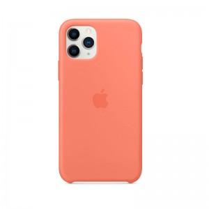 Apple Silikon Case iPhone 11 Pro (clementine)