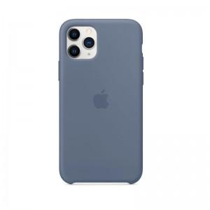 Apple Silikon Case iPhone 11 Pro (alaska blau)